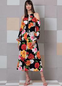 Dress, Custom Fit. Vogue 9296.