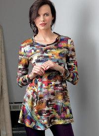 Top, Marcy Tilton. Vogue 9300.
