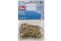 Brass rings for drapes, decoration etc. 16 mm 24 pcs