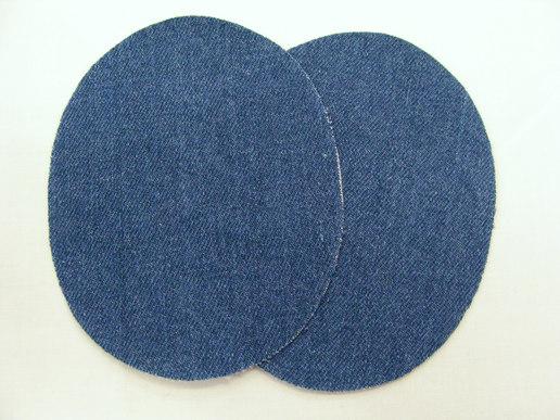 Denim patch blue 2pcs