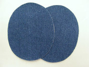 Denim patch blue 2pcs