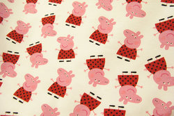 Peppa Pig white cotton-jersey