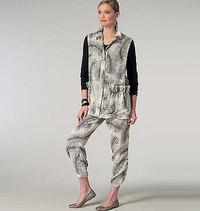 Vogue pattern: Vest and Pants, Sandra Betzina