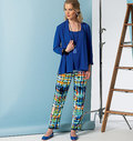 Cardigan, Top, Dress, Skirt and Pants, Five Easy Pieces