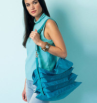 Vogue pattern: Bags and Pouch, Kathryn Brenne