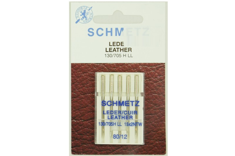 sewing machine needle for leather