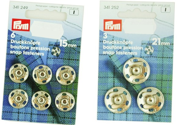 Snap fasteners from Prym