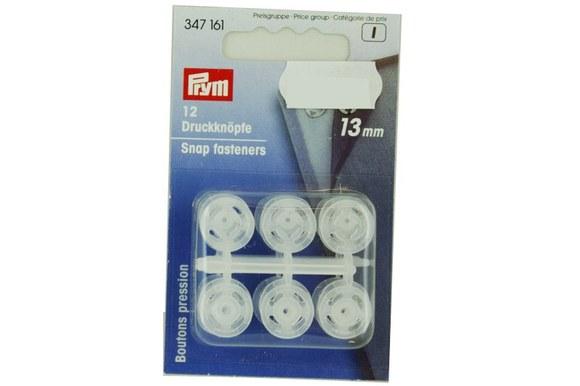 Snap fasteners plastic 13mm