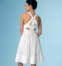 Dress, Rebecca Taylor. Vogue 1446.