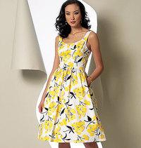 Dress. Vogue 9100.