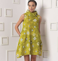 Dress, Marcy Tilton. Vogue 9112.
