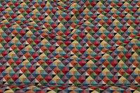 Beautiful upholstry-gobelin in fresh colors, 2 cm checks