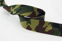 Bias tape, camouflage 2 cm