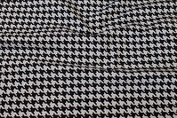 Black white tiny-step furniture fabric