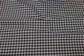 Black white tiny-step furniture fabric