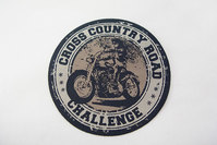 Cross country road patch 7 cm