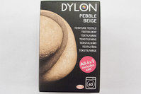 Dylon textile washing machine dye, pebble beige