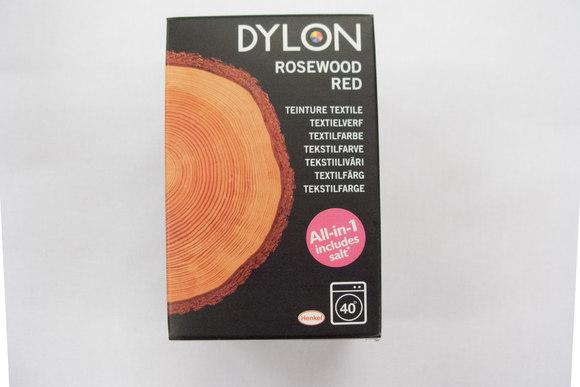 Dylon textile washing machine dye, rosewood red