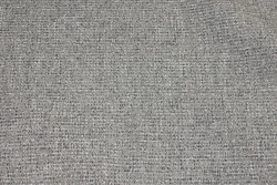 Light grey, speckled opholstry-fabric polyester and acryllic