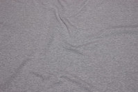 Lightweight sweatshirt fabric, grey-speckled with softened back