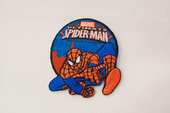Spiderman patch 6cm