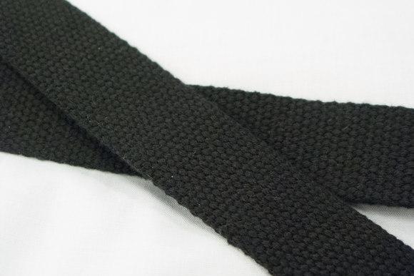 Strap cotton 3 cm black