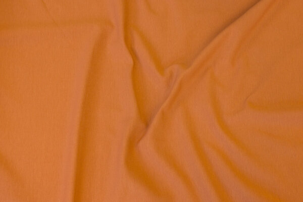 Cinnamon-colored cotton-jersey