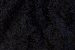Black faux ´´tibetaner´´ fur