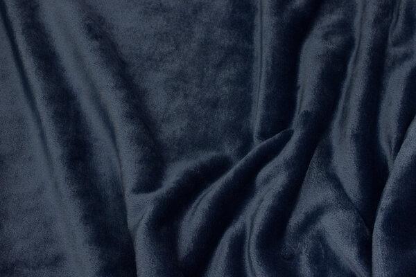 Supersoft micro-fleece in dark dove-blue