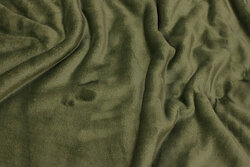 Supersoft micro-fleece in dusty-green