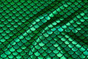 Foil-jersey with green holography-print