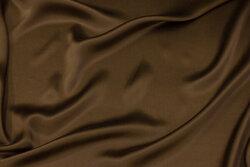 Tobacco-brown, gorgeous sandwashed silk