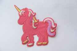 Unicorn patch 6x6cm