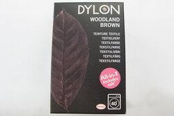 Dylon textile washing machine dye, woodland brown