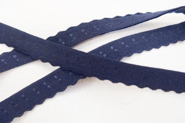 Elastic denim blue 1 cm