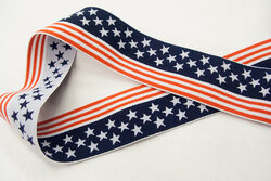 Elastic stars and stripes 4 cm