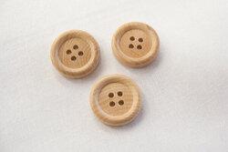 Wooden button 1,7cm