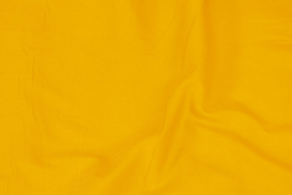 Warm yellow narrow-rifled baby corduroy