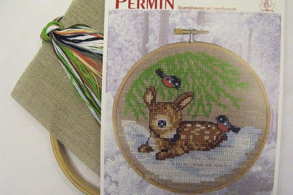 Embroidery Deer