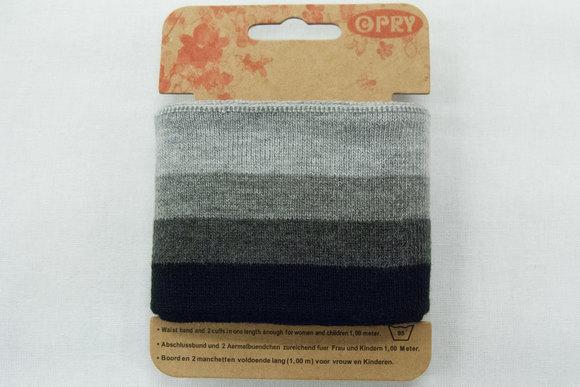 Cuff black and grey