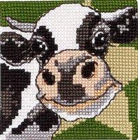 Permin 9280. Black and white cow.