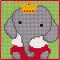 Permin 9312. Elephant with krone.