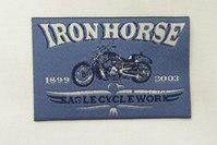Iron horse patch 5 x 8 cm