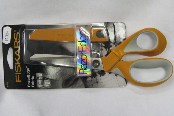 Fiskars razor edge fabric scissors 23cm