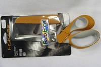 Fiskars razor edge fabric scissors.