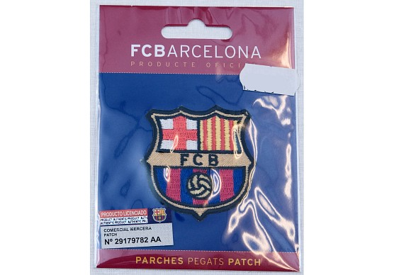 FC Barcelona ironing patch ca. 5x5 cm