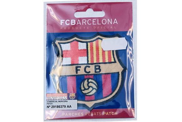 FC Barcelona ironing patch ca. 8x8 cm