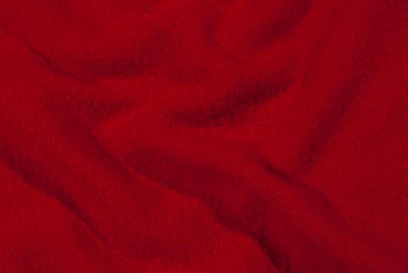 Wool-bouclé in red, pure wool