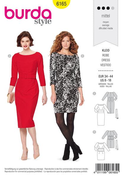 Dress, figure-fitting