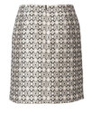 Skirt, Slightly flared, Side panel seams